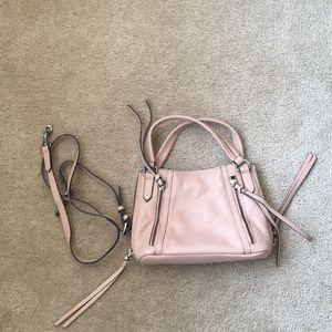 Handbags - Pink leather small satchel